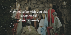 Merry Christmas from Miori's Family